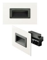 Muldengriff / Türen / Kunststoff / ergonomisch