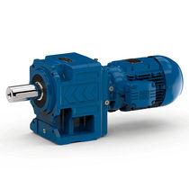 Schneckenzahnrad-Elektrogetriebemotor / einphasig / Koaxial / mit rechtsseitiger Verzahnung