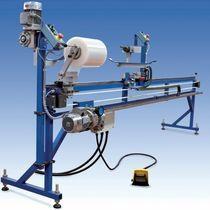 Automatischer Rollladen-Aufwickler / mit Folien-Verpackungssystem