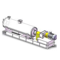 Dynamischer Mischer / Polymer / horizontal