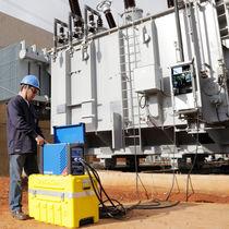 Prüfgerät für Transformatoren / mobil / 3-Phasen