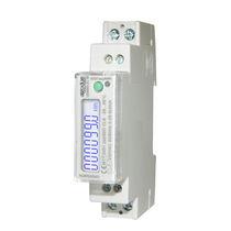 Einphasiger Elektrischer Energiezähler / DIN-Schienen / 50 Hz / mit LCD-Display