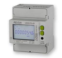 Elektrischer Energiezähler / 3-Phasen / DIN-Schienen / 50 Hz / mit LCD-Display