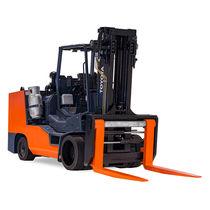 Verbrennungsmotor-Gabelstapler / Sitz / für den Innenbereich / mit Elastikreifen