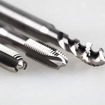 Einteiliger Gewindebohrer / HSS / für Stahl / zur Wartung