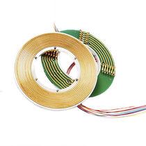 Elektrischer Schleifring / Vibrationsverdichter / zweiteilig / flach