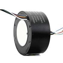 Schleifring zur Leistungs- und Signalübertragung / Durchgangsbohrung / kompakt
