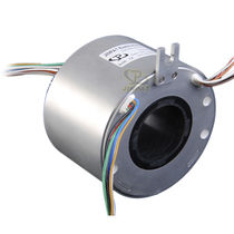 Schleifring zur Leistungs- und Signalübertragung / Hohlwelle