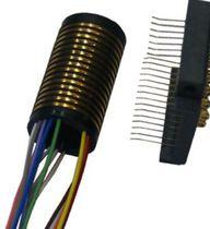 Schleifring zur Leistungs- und Signalübertragung / Hohlwelle / für Kamera / für Meßgeräte