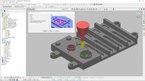 CAM-Software / zur 5-Achs-Bearbeitung