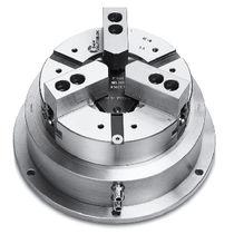 Dreh-Kraftspannfutter / pneumatisch / 3-Backen / Drehmaschinen