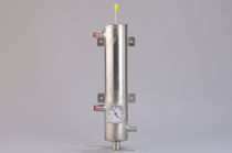 Gaskühler / für Flüssigkeiten / Rohr