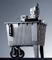 Druckbehälter / Sammel für Flüssigkeiten / Aluminium / vertikal
