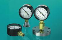Rohrfedermanometer / mit Zifferblatt-Anzeige / für Vakuum