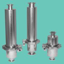 Gas-Filter / Korb / hermetisch dichte / für Vakuumpumpen