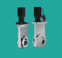 Segmentschütz / pneumatisch / Absperr / Vakuum