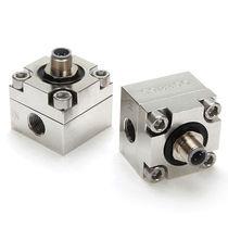 Ovalrad-Durchflussmesser / für Flüssigkeiten / Flansch / Edelstahl