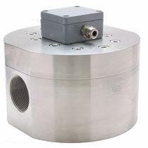 Ovalrad-Durchflussmesser / für Wasser / Flansch