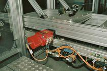 Pneumatischer Zylinder / mit geführter Kolbenstange / Doppelkolben / aus Aluminium