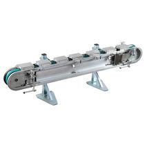 Bandförderer / horizontal / Paletten / für Riemenantrieb