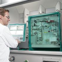 Feuchtemesser für Gas / Karl-Fischer / Labor