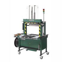 Vertikalumreifungsmaschine / Karton / automatisch