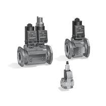 Gasmagnetventil / Luft / kompakt / Flansch