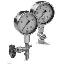 Analoges Manometer / Kapselfeder / Prozess / für Gas