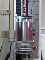Wärmender Behälter / für Materialprüfmaschine / vertikal