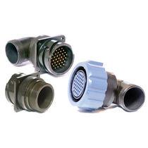 Stromversorgungs-Steckverbinder / Rund / Bajonett / Flansch