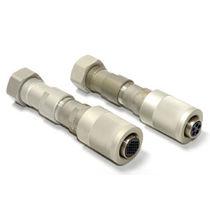 Stromversorgungs-Steckverbinder / Rund / mit Schraubanschlüssen / mehrpolig