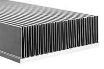 Kupferkühlkörper / Aluminium / mit Lamellen