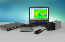 Messgerät für Particle Image Velocimetry (PIV) / Partikel / Laser / Luft