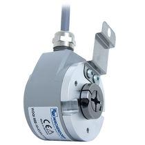 Inkrementaler Drehgeber / optisch / Sacklochwelle / IP65