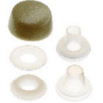 Gewindelose Endkappe / rund / Polyethylen / Schutz