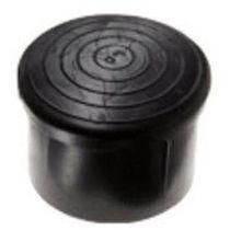 Gewindelose Endkappe / rund / Polyethylen / aus PVC