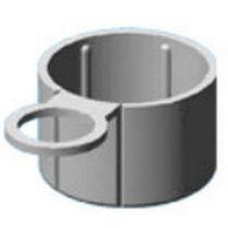 Runde Kappe / Polyethylen / Laschen