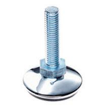 Maschinenfuß / Stahl / Nivellier / Gewinde