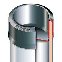 Runde Kappe / Polyethylen mit geringer Dichte LDPE / Hochtemperatur