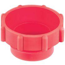 Gewindekappe / rund / Polyethylen mit geringer Dichte LDPE / gerändelt