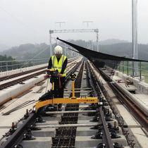 Geometriemesssystem / Äquivalenz / Schienen / zur Anwendung im Eisenbahnbereich