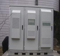 Freistehend-Schrank / aus Metall / für den Außenbereich / IP55