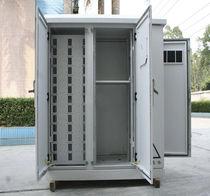Schrank für Werkstatt / freistehend / doppeltüriger blech-Stand / aus Metall
