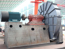 Zentrifugaler Ventilator / für hohe Temperaturen / Rostschutz