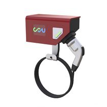 Ladestation für Elektrofahrzeug / wandmontiert / AC