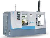 CNC-Drehmaschine / Hochpräzision / mit automatisiertem Be- und Entladen / Zur Lagerung der Arbeitsstücke