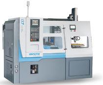 CNC-Drehmaschine / Hochpräzision / mit automatisiertem Be- und Entladen / pro Platte