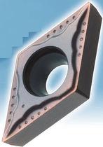 Schneidplatte für Stahl / mit Spanbrecher