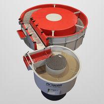 Zentrifugale Gleitschleifmaschine / Durchfluss