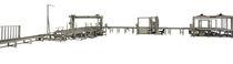 Schneidmaschine für EPS / Schwingsaiten / PLC-gesteuert / für Platte aus Schaumkunststoff